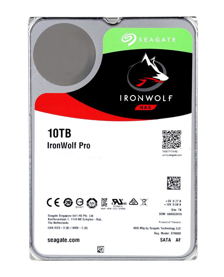 Seagate 10TB IronWolf PRO 7200RPM 256MB