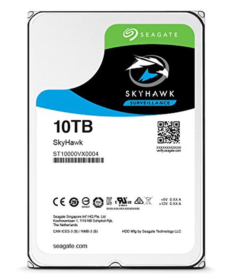 Seagate 10TB SkyHawk 7200RPM 256MB